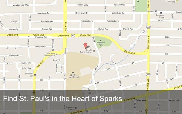 Find Us in the Heart of Sparks